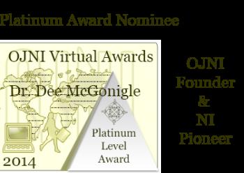 for Dee McGonigle OJNI Founder  V 18 N 1